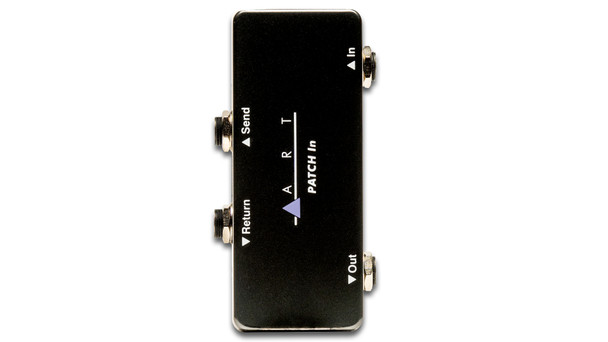 ART Patch In - Compact Pedalboard  Patch-bay / Insert Point