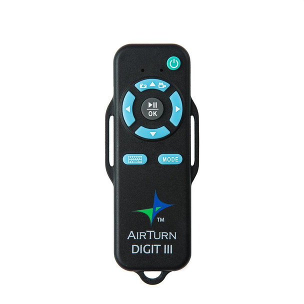 Airturn DIGIT III Bluetooth wireless remote control for tablets