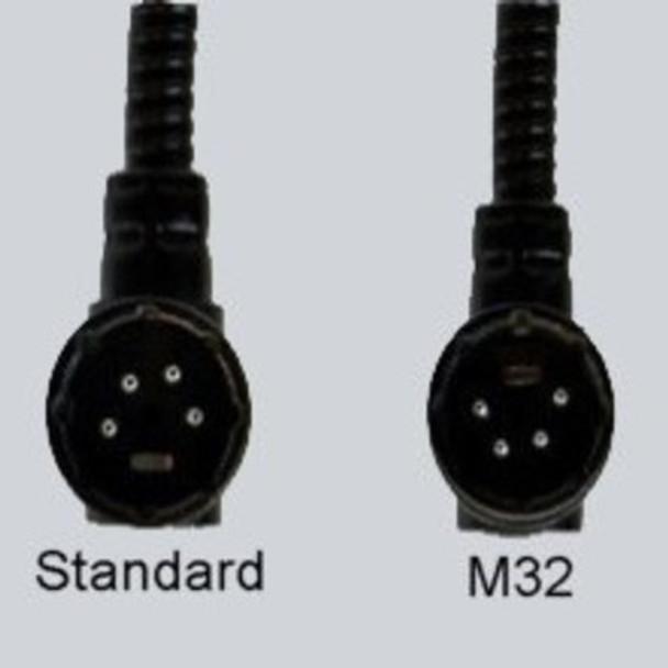 Littlite LED Gooseneck Light for Midas M32 - 4-Pin Right-Angle XLR