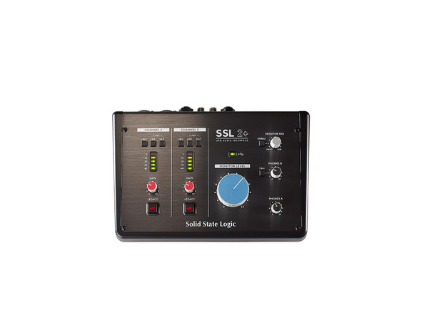 Solid State Logic SSL 2+ USB Audio Interface w/MIDI & 2 headphone outs