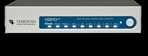 Ferrofish Verto MX  64 x 64 MADI <> Dante Converter