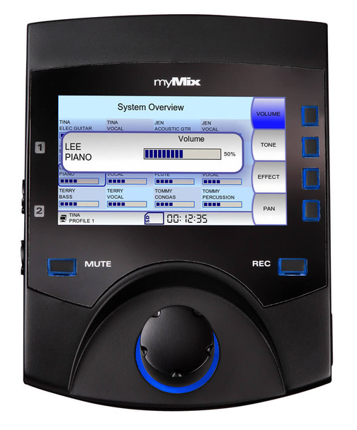 myMix II Networked Personal Mixer & Multi-track Recorder