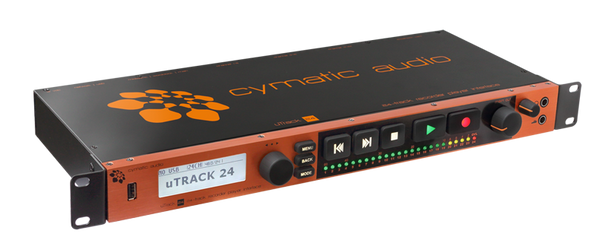 Cymatic Audio uTrack24 - Live Recorder & Player & Interface