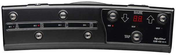 Hughes & Kettner FSM-432 MK III Fully Programmable MIDI Foot Pedal