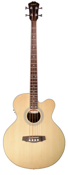 Denver DB44SCE Full Size Acoustic Bass with Fishman Pickup System