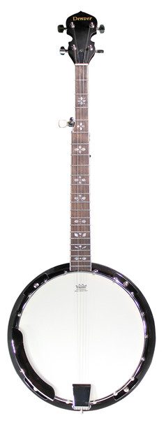 Denver 5-String Closed Back Banjo - Natural
