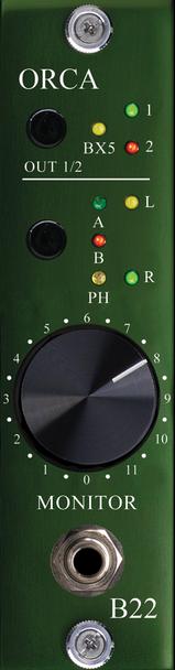 Burl B22 ORCA Control Room Monitor for B80 Mothership