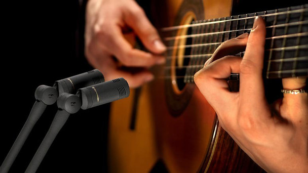 Sennheiser MKH 8040 STEREO SET Studio Cardioid Condenser Microphone