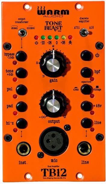 Warm Audio TB12-500 ToneBeast 500-Series Tone Shaping Mic Pre