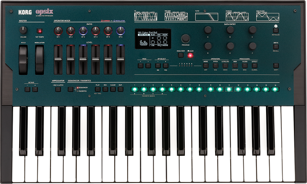 Korg opsix Altered FM Synthesizers