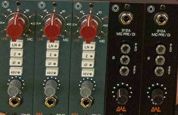 BAE Kenny Aronoff Bundle - (3) 1073MPL + (2) 312A 500 Series Preamps