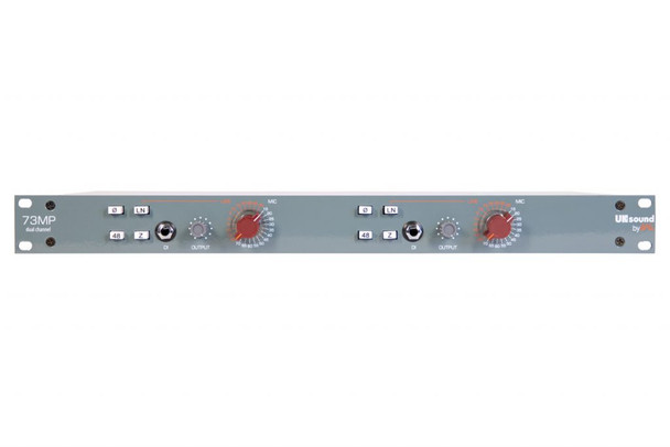 UK Sound by BAE 1073MP Dual Channel Mic Pre