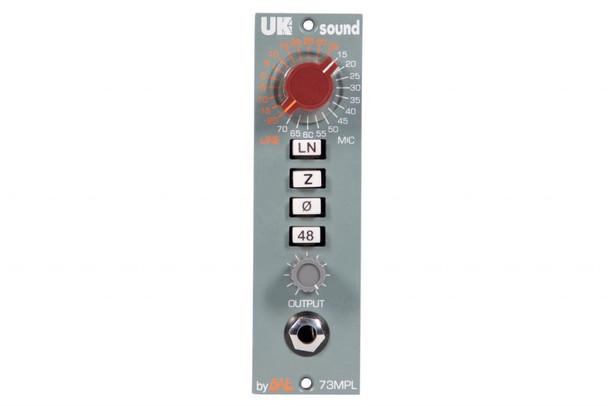 UK Sound by BAE MPL 500 Series Mic Pre