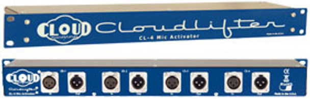 Cloud Microphones Cloudlifter CL-4 Microphone Activator Rack