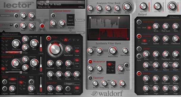 Waldorf Lector - Vocoder Plus Processor