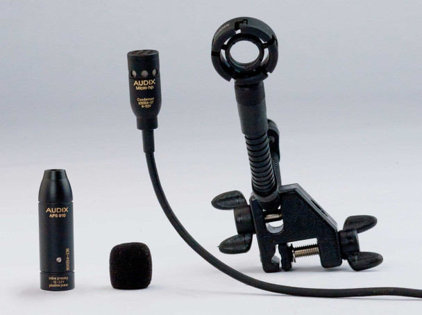 Audix MicroHP Miniature Instrument Mic for Hand Percussion