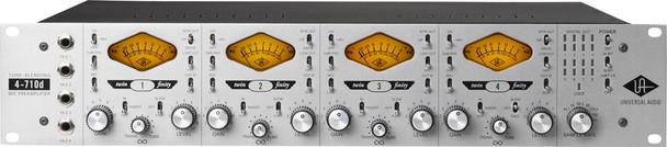 Universal Audio 4-710d Four-Channel Mic Pre w/ Dynamics & A/D