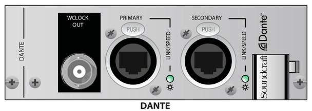 Soundcraft Dante 64 x 64 Card For Vi Stagebox