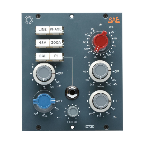 BAE 1073D - 500-Series Microphone Preamp / EQ