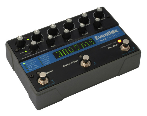 Eventide TimeFactor Twin Delay Effects Pedal