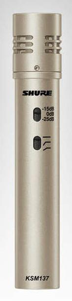 Shure KSM137/SL Stereo - Studio Condenser Microphone Pair
