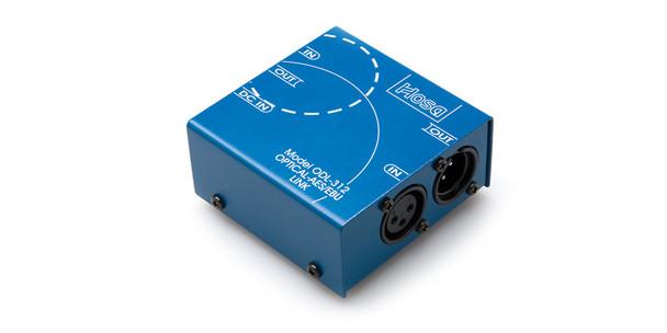 Hosa ODL-312 Digital Audio Interface S/PDIF Optical to AES/EBU