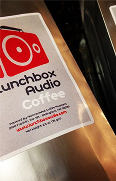 Lunchbox Audio Coffee - Single Bean Micro-Roast - 12 Oz Bag