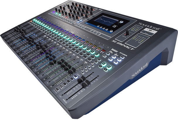 Soundcraft Si Impact 40-input Digital Mixing Console w/iPad Control - 1