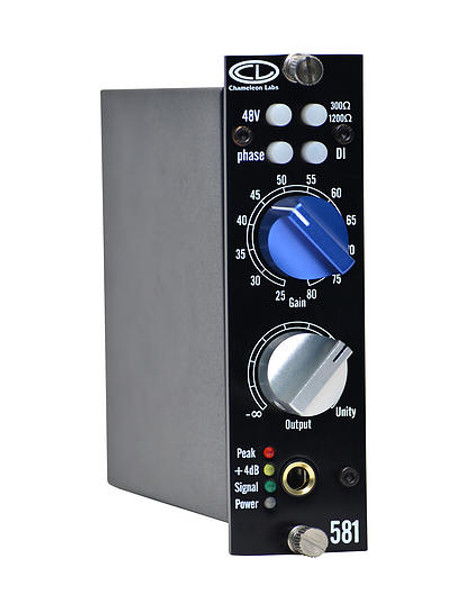 Chameleon Labs 581 - 500 Series Microphone Preamp Module