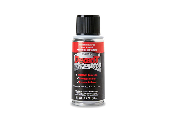 CAIG D100S-2 DeoxIT Contact Cleaner