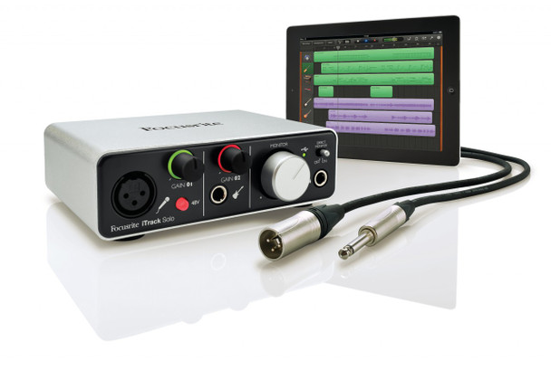 Focusrite iTrack Solo iOS & USB Recording Interface