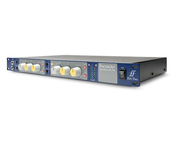 Focusrite ISA Two Dual Channel Microphone & Instrument Preamp