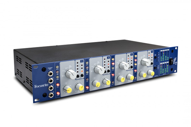 Focusrite ISA 428 MkII 4-Channel Microphone & Instrument Preamp