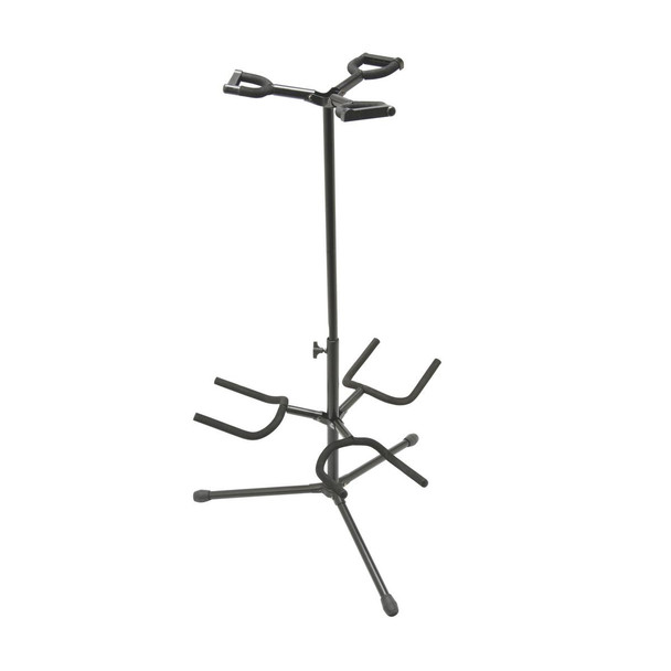 On-Stage Stands - GS7321BT Deluxe Folding Triple Guitar Stand
