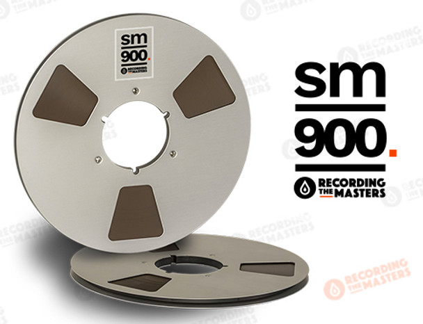 "RTM 34620 - SM900 1/4"" x 2500' Analog Tape - 10.5"" Metal Reel + Box"