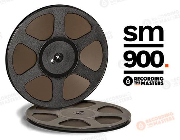 "RTM 34621 - SM900 1/4"" x 2500' Analog Tape - 10.5 Trident Plastic Reel"