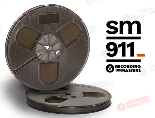 "RTM 34111 - SM911 1/4"" x 1200' Analog Tape - 7"" Plastic Reel + Box"