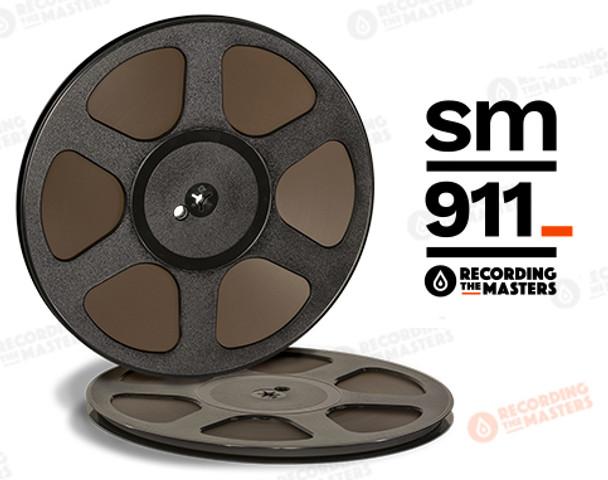 "RTM 34112 - SM911 1/4"" x 2500' Analog Tape - 10.5"" Trident Plastic Reel + Box"
