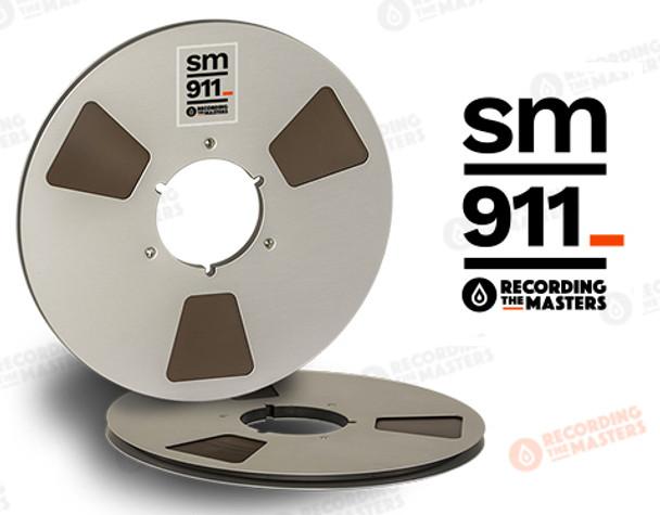 """RTM 34120 - SM911 1/4"""" x 2500' Analog Tape - 10.5"""" Metal Reel + Box"""