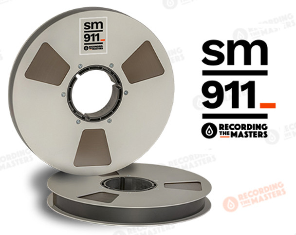 "RTM 34320 - SM911 1"" x 2500' Analog Tape - 10.5"" Metal Reel + Box"