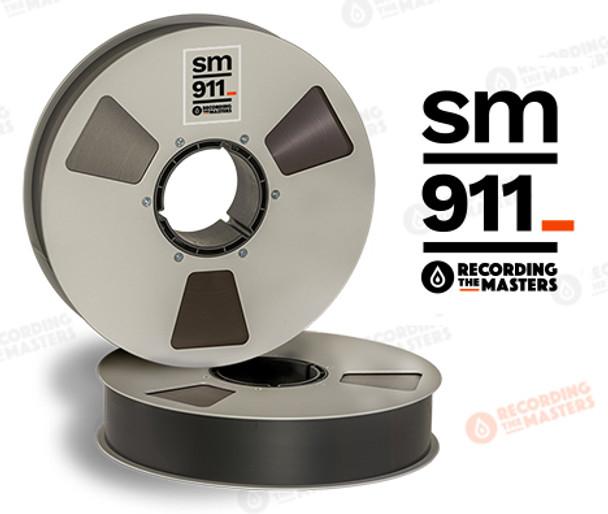 """RTM 34420 - SM911 2"""" x 2500' Analog Tape - 10.5"""" Metal Reel + Box"""