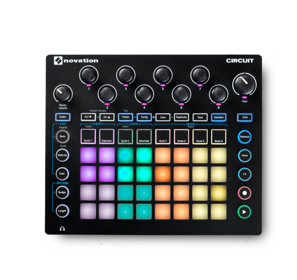 Novation Circuit Synthesizer & Sequencer
