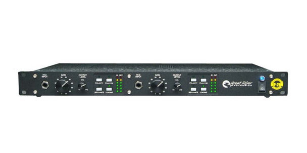 Great River MP-2NV 2 channel preamp classic '70s vintage circuit styling
