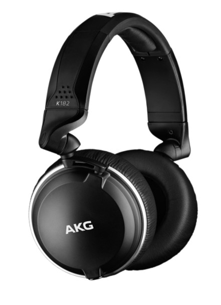 AKG K182 New Professional Closed-Back Monitor Headphones