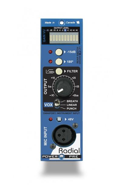 Radial Engineering PowerPre 500 Series Microphone Preamplifier