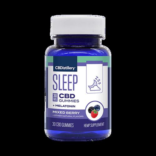30mg  Broad Spectrum CBD Nighttime Gummies THC Free