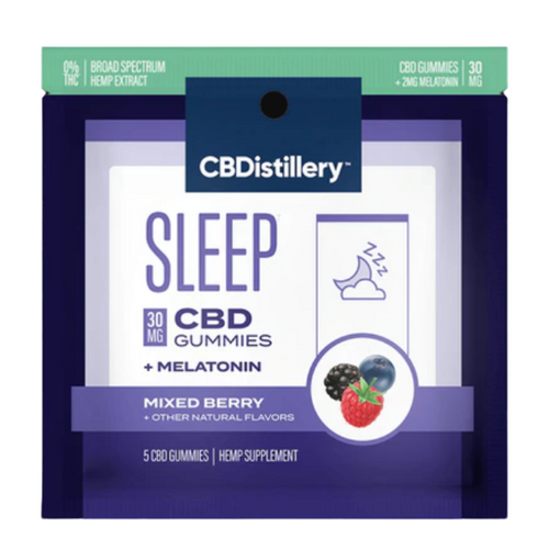 Travel Size: 30mg CBD Nighttime Gummies
