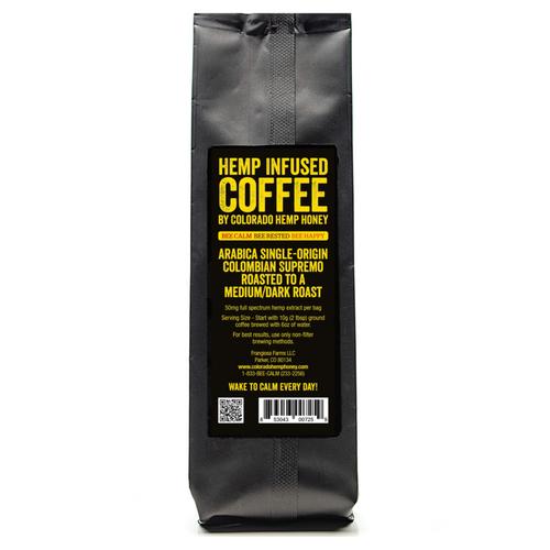 Hemp Infused Coffee 2oz
