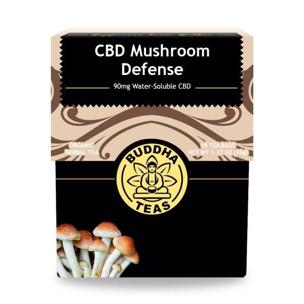 This superior CBD blend contains four powerful medicinal mushrooms: chaga,reishi, lion's mane, and cordyceps, providing a balanced, nutrient dense tea to enjoy any time of day.