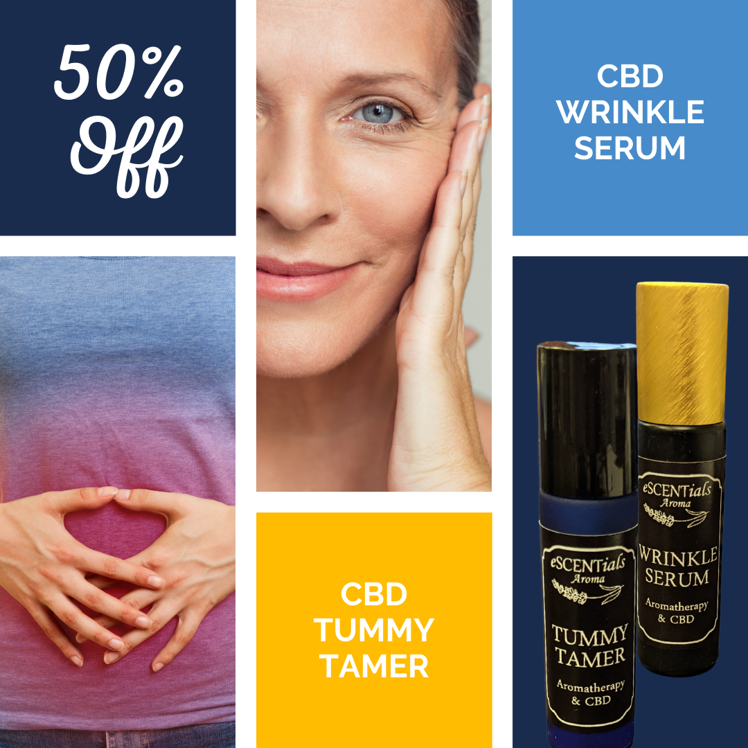 Save on CBD rollers for face and tummy. 100mg full spectrum CBD each.